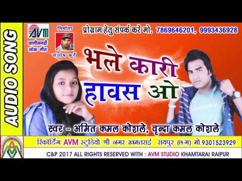 CHHATTISGARHI SONG-भले कारी हावस ओ-अमित कमल-NEW HIT CG DJ VIDEO GEET-HD 2017-AVM STUDIO RAIPUR