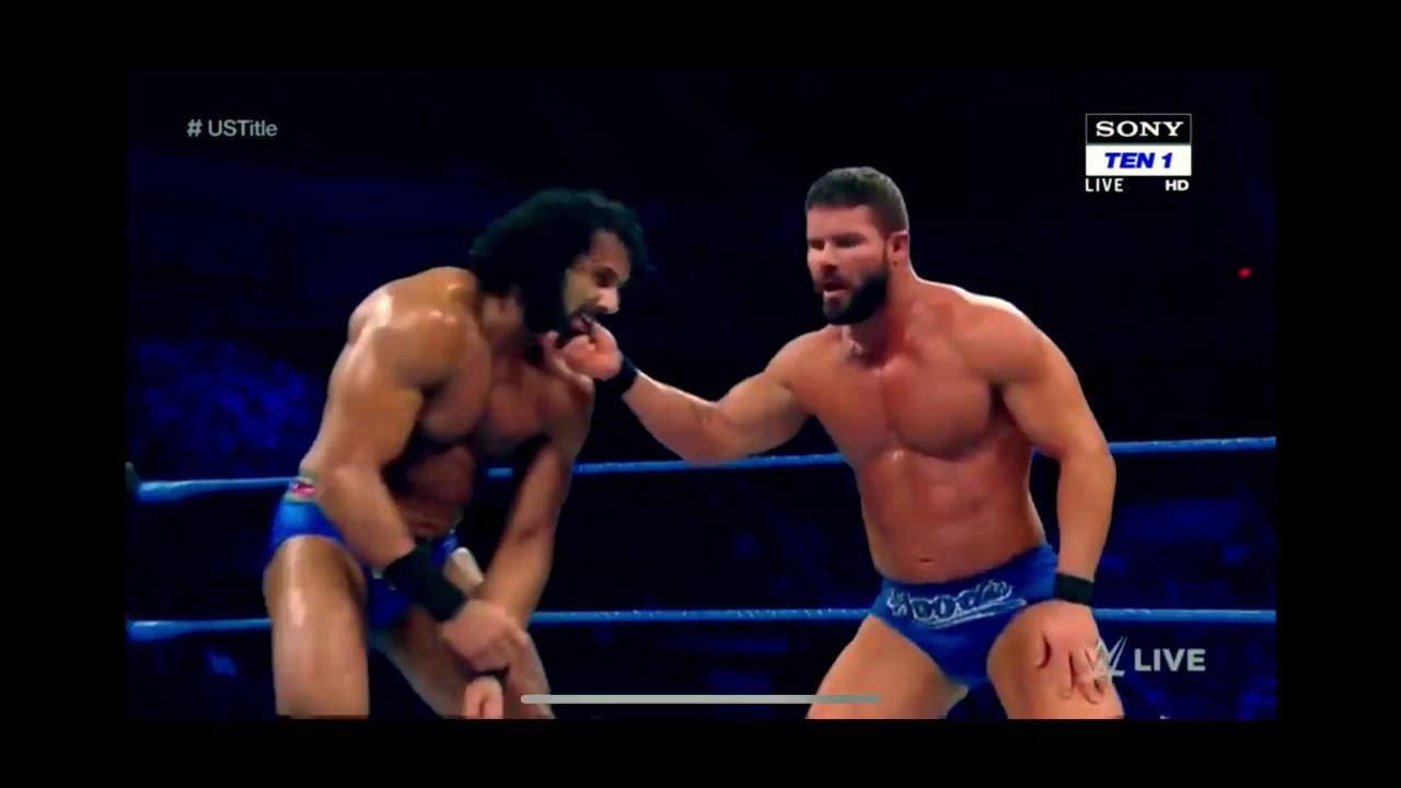 Bobby Roode vs Jinder Mahal - US CHAMPIONSHIP FINALS   WWE Smackdown 1/17/2018   SD LIVE
