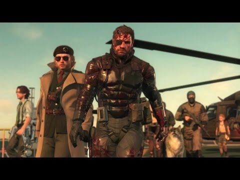 METAL GEAR SOLID V: The Phantom Pain Launch Trailer