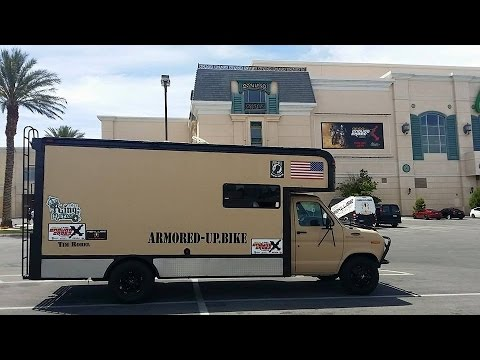 Ryder Box Van Conversion To Rv Toy Hauler Youtube
