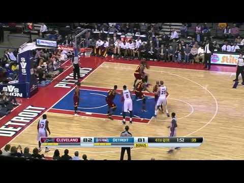 Cleveland Cavaliers vs Detroit Pistons | February 12, 2014 | NBA 2013-14 Season
