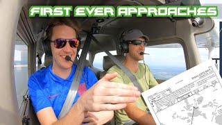 First Time Doing Instrument Approaches| C172