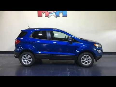 New 2019 Ford EcoSport Christiansburg VA Blacksburg, VA #FD190610