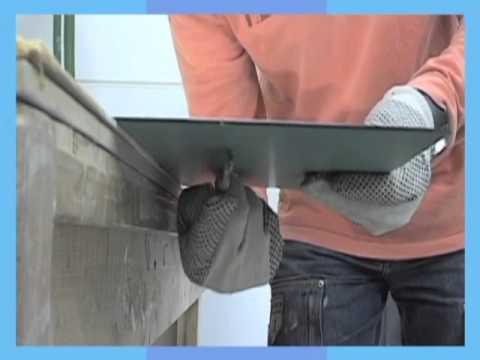 Uitzonderlijk Klusvideo Spiegel snijden - YouTube XJ27