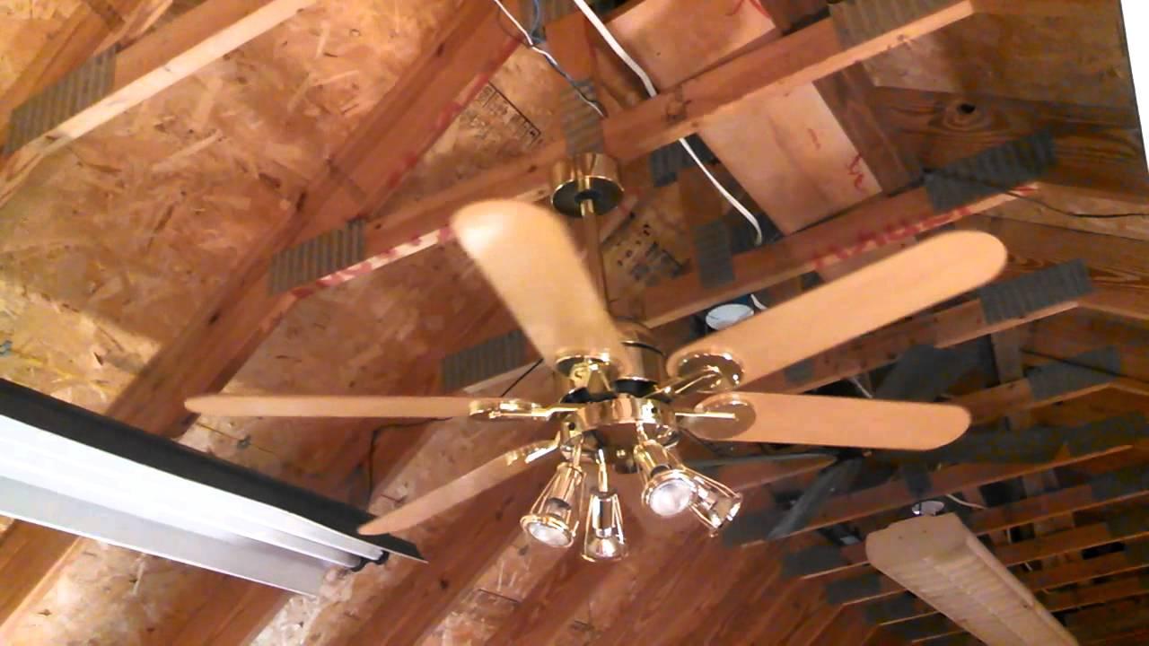 Homestead Wind Ii Ceiling Fan With Integrated Par Spotlight Kit You