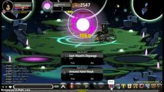 AQW GrimBlight Of Destiny Axe [Most Powerful Weapon Ever!/Patched]