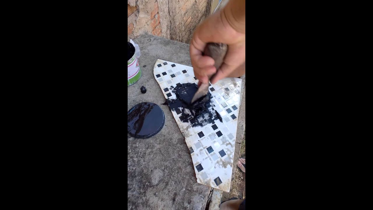 Como remendar um granito de mesa com massa pl stica youtube for Como se vende el granito