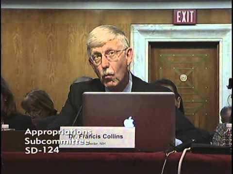 Sen. Moran Discusses NIH FY16 Budget Request at Senate Appropriations Hearing
