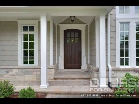 Wooden Front Doors With Gl Side Panels Ideas