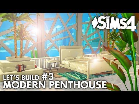Luxus Schlafzimmer | Die Sims 4 Haus bauen | Modern Penthouse #3 (deutsch)
