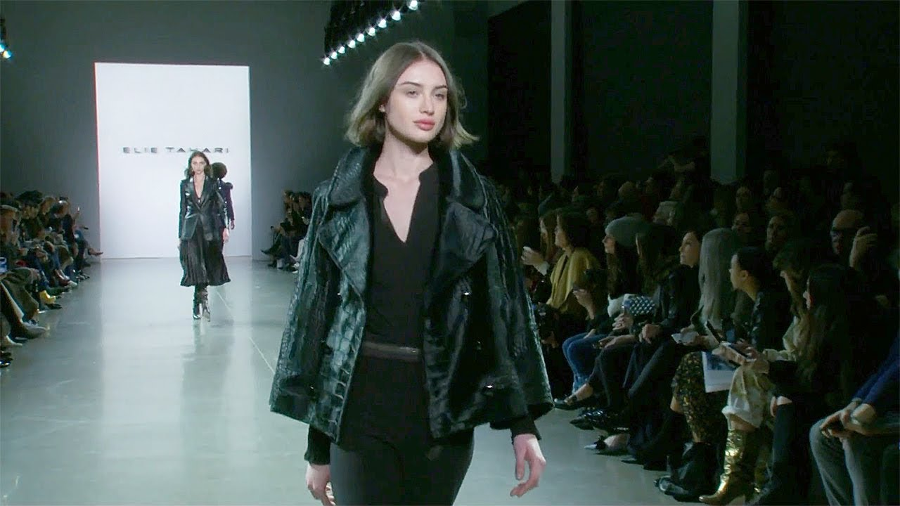 Elie Tahari Fall Winter 2019 2020 Full Fashion Show Exclusive Youtube