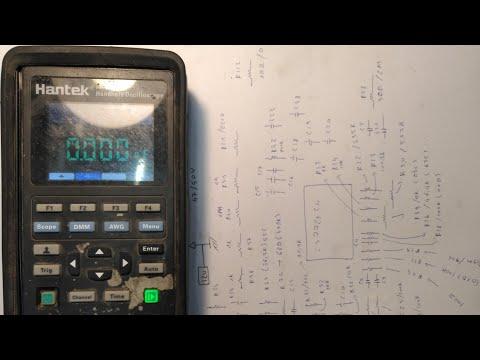 review tháo nắp và thông số linh kiện hay hỏng trên máy hiện sóng hantek 2D42