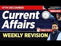 #192 : 17th December Current Affairs - Weekly Current Affairs Revision | GK Questions in Hindi