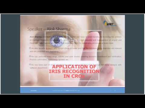 Application of Iris recognition in CROs