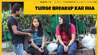 Breakup Prank On Cute Girl In Delhi |AKY FILMS |