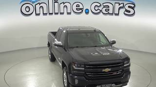 A96836GT Used 2017 Chevrolet Silverado 1500 LTZ 4WD Double Cab Gray Test Drive, Review, For Sale