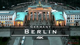 Berlin, Germany 🇩🇪 - by drone [4K]