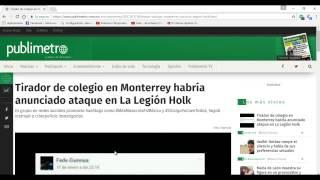 MASACRE EN COLEGIO DE MONTERREY NL, LO QUE REALMENTE PASÓ