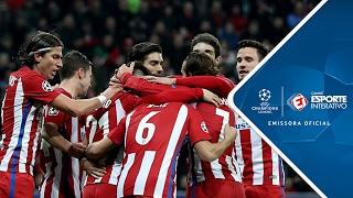 Melhores Momentos - Bayer Leverkusen 2 x 4 Atlético de Madrid - Champions League (21/02/2017)