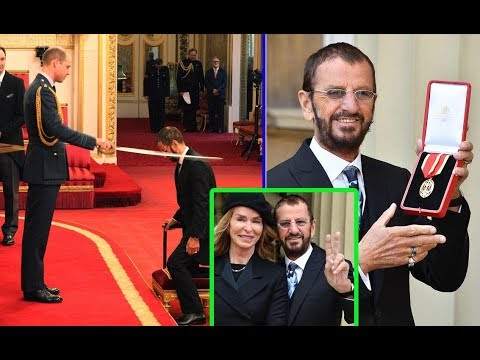 Beatles legend Ringo Starr FINALLY receives his Knighthood 21 years after Sir Paul McCartney