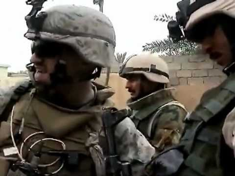 U.S. Marines Fighting In Ramadi - Iraq War