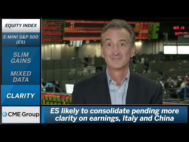 October 19 Equities Commentary: Larry Shover