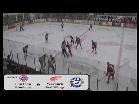 'AND WE'VE GOT A GOALIE FIGHT', 6 on 6 Hockey Brawl