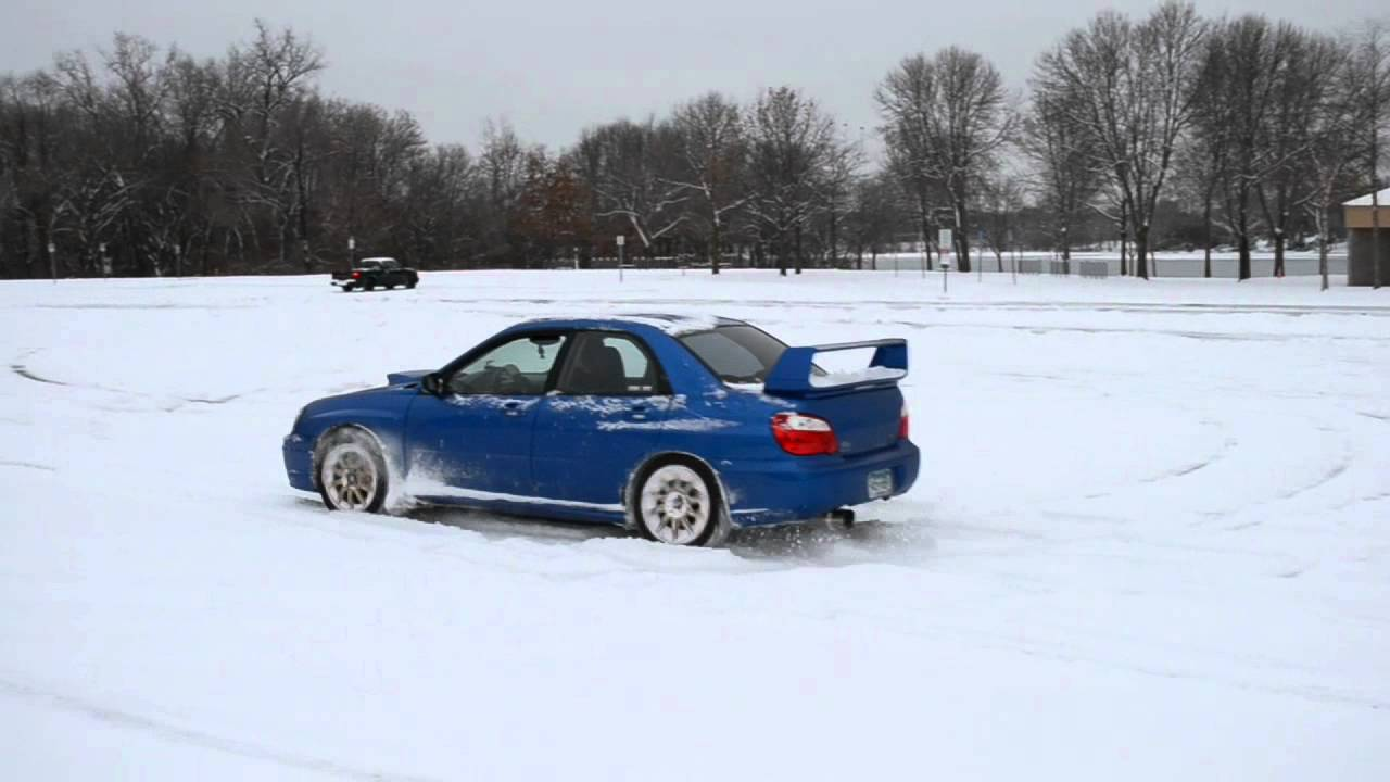 Subaru Impreza Wrx Sti Winter Fun Youtube