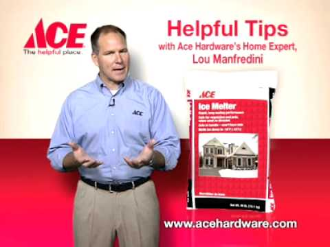 Helpful tips on clearing icy sidewalks and driveways - Ace Hardware