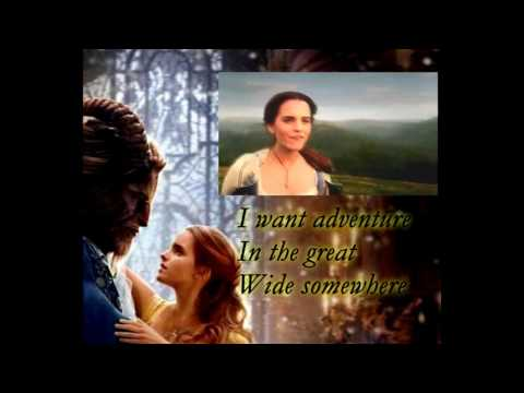 Beauty and the Beast 2017 - Belle (Reprise) - Karaoke