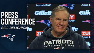 "Bill Belichick: Our ""players are transitioning to a higher gear"" 