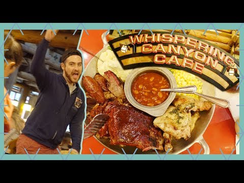 NEW Whispering Canyon Cafe and Wilderness Lodge Review | Walt Disney World Vlog