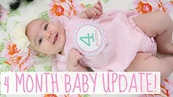 4 Month Baby Update: Sleep Training & 75th Weight Percentile! | Hayley Paige