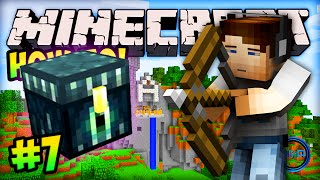 "MINECRAFT (How To Minecraft) - w/ Ali-A #7 - ""THE FIRE BURNS!"""
