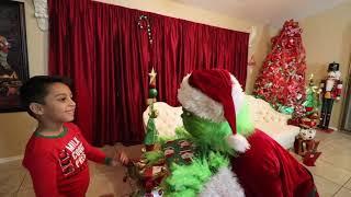 THE GRINCH RUINS CHRISTMAS | DEION