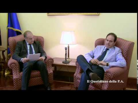 Il Quotidiano Della Pa Intervista Ad Andrea Marcucci Youtube