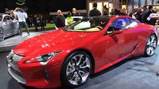 Lexus Walkthrough at the Detroit auto show