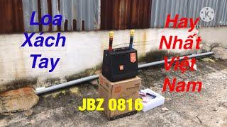 Loa Karaoke Mini Xách Tay Cao Cấp Nhất Thế Giới JbZ 0816