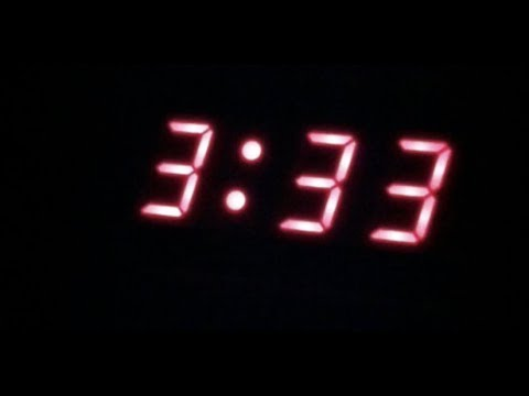 EVER WONDER WHY YOU MIGHT WAKE UP AT 3 A.M. SOMETIMES???