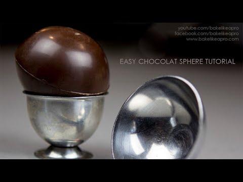 Easy Chocolate Sphere Tutorial