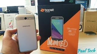 Samsung Galaxy J3 Emerge Unboxing and Hands On