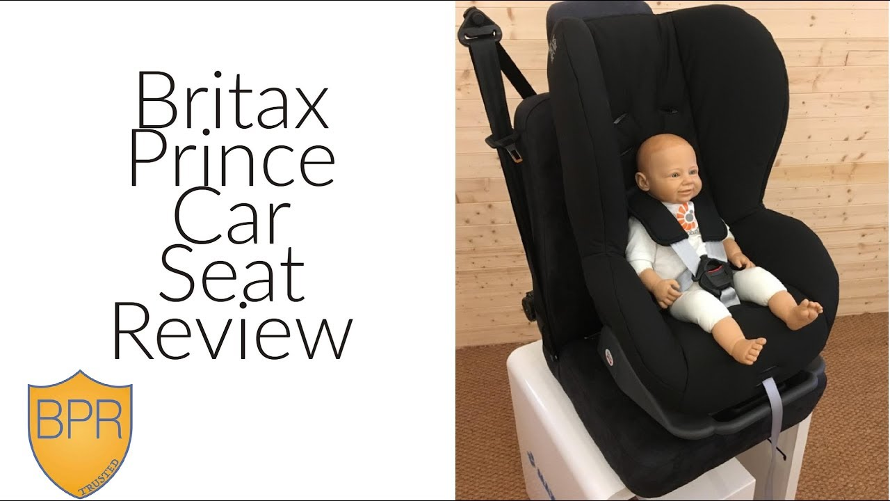 Britax Prince Car Seat Review