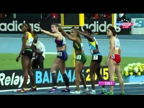 Women's 4x400 Metres Relay IAAF World Relays 2015 Nassau, Bahamas Heat 2