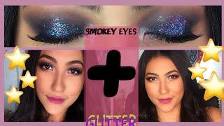 💙 Tutorial: Smokey eye clásico + Twist de color | Productos colombianos | Juliana Gaviria