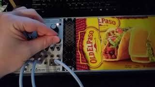 First Modular Synth Wiggle