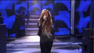 Download Demi Lovato - Give Your Heart A Break (Live on American Idol) MP3 song and Music Video