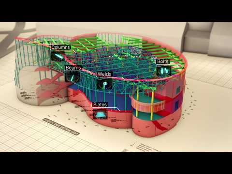 Complete and connected steel fabrication with Tekla PowerFab