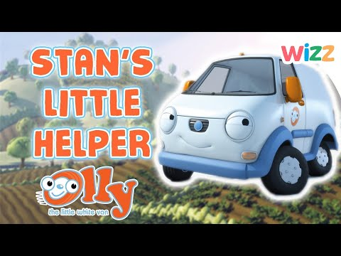 Olly the Little White Van - Stan's Little Helper | Cars For Kids | Wizz | Cartoons for Kids