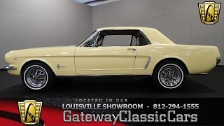1965 Ford Mustang - Louisville Showroom -  Stock # 1205