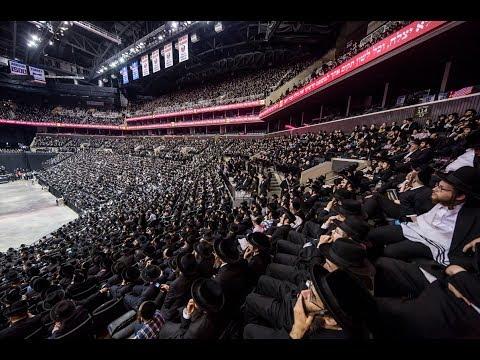 """סרט נדיר והיסטורי - """"כינוס רבבות ועצרת מחאה"""" - גזירת גיוס   Barclays Center - IDF Draft Protest"""